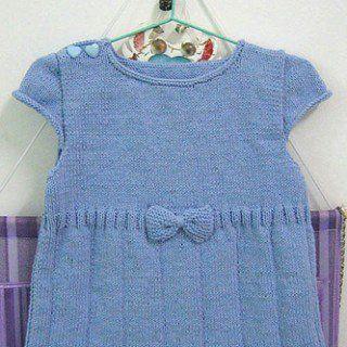 Kız Bebeklere Örgü Elbise Modelleri 199