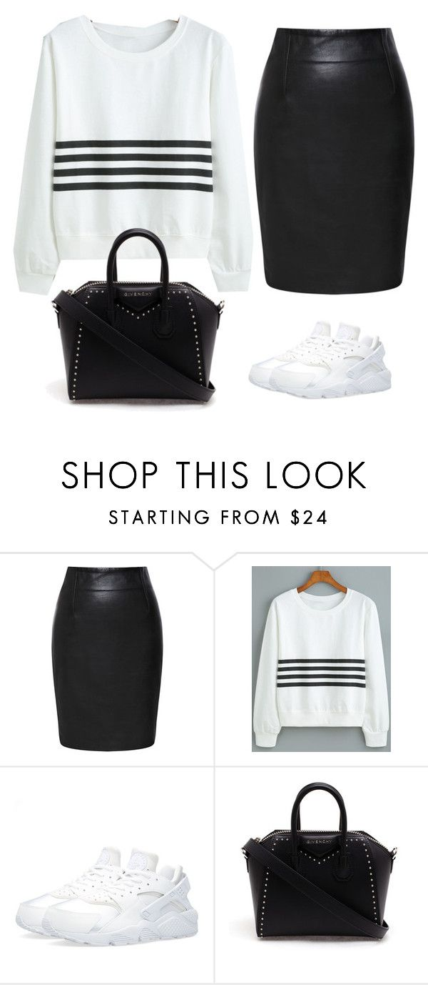 """""""Untitled #450"""" by christyandnef on Polyvore featuring Prabal Gurung, NIKE, Givenchy, women's clothing, women, female, woman, misses and juniors"""