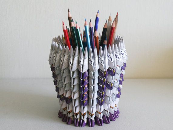 origami vessel on etsy