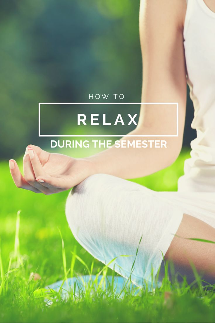 College makes you nervous? anxious? These tips might help you relax! Click through to find out what they are!