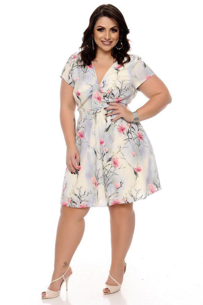 81796d8b4 Vestido Plus Size Karoline | Daluz Plus Size - Loja Online - Daluz Plus Size  | A Loja Online Plus Size que mais cresce no Brasil!