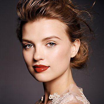 Modern Fairytale Look From Bare Minerals With Bold Lip Makeup Ideas Pinterest Lips And