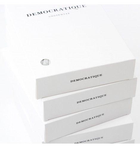 DEMOCRATIQUE UNDERWEAR Superior Boxer Brief 2-pack GREY MELANGE / GRIGIO