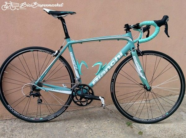 bici da corsa strada uomo Bianchi (Italy) Impulso 105 alluminio