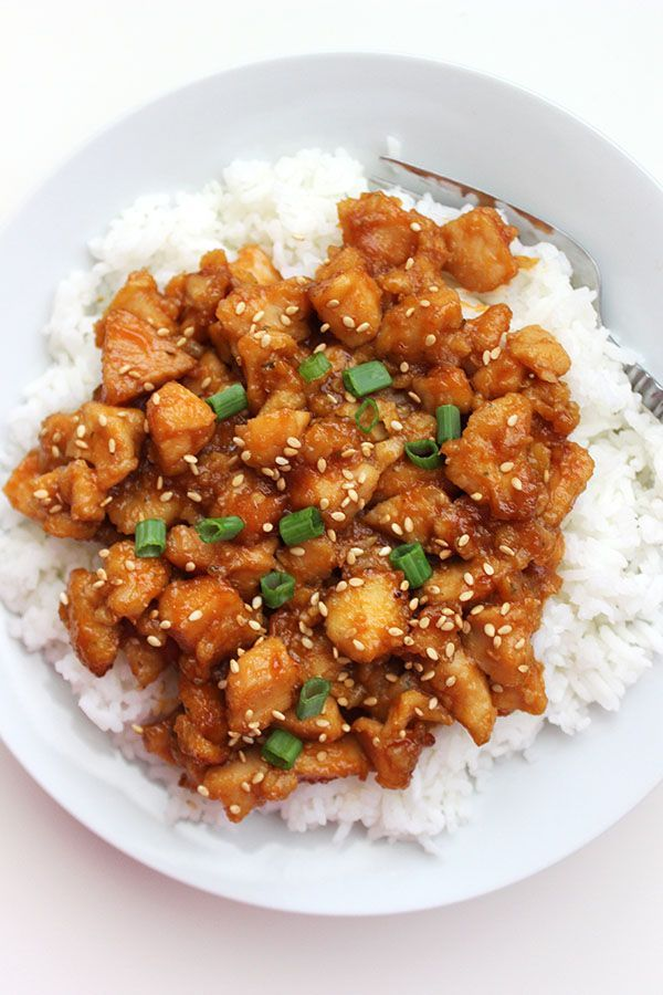 Crockpot Sweet and Sour Chicken - super simple and delicious!