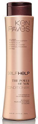 (My review of Ken Paves SelfHelp® The Power of Now Conditioner) -  Anti-Aging: Increases Hair Elasticity*;A delicately rich, yet clean-rinse formula brings vitality back to very dry/damaged and colored hair;Scented with essential oils – no artificial fragrance;Co-elastic Q-10 Clusters and a propriety Phospholipid Nano-dispersionTM helps provide youthful...