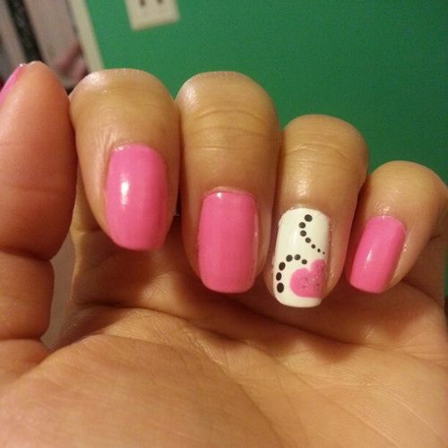 Simple Constellation Nail Art: 80 Best Images About Easy Nails On Pinterest
