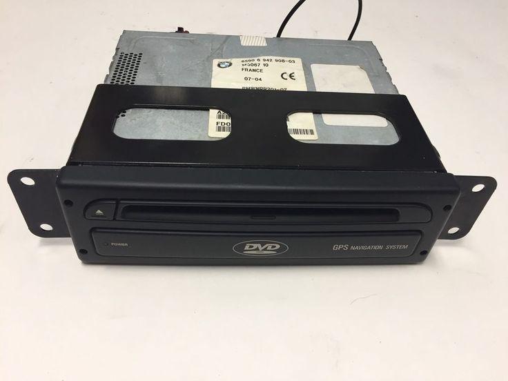 BMW X5 X3 Navigation Drive 6590 6 942 908 GPS DVD Player Module Unit OEM #bmwoemx5x3
