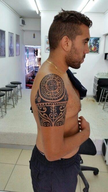 Maori tattoo, arm tattoo, halfsleve tattoo, polenesian tattoo, bodrum tattoo, bodrum dovme, ali baba tattoo, turan baran