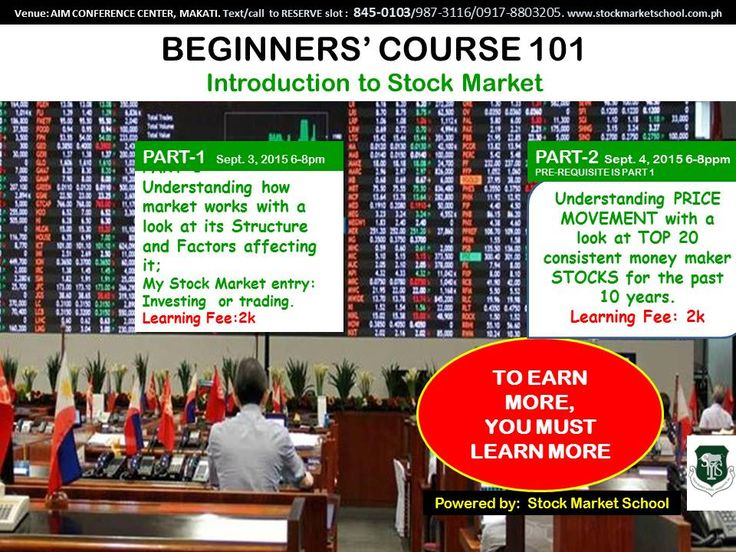 Stock market online course philippines - Best online