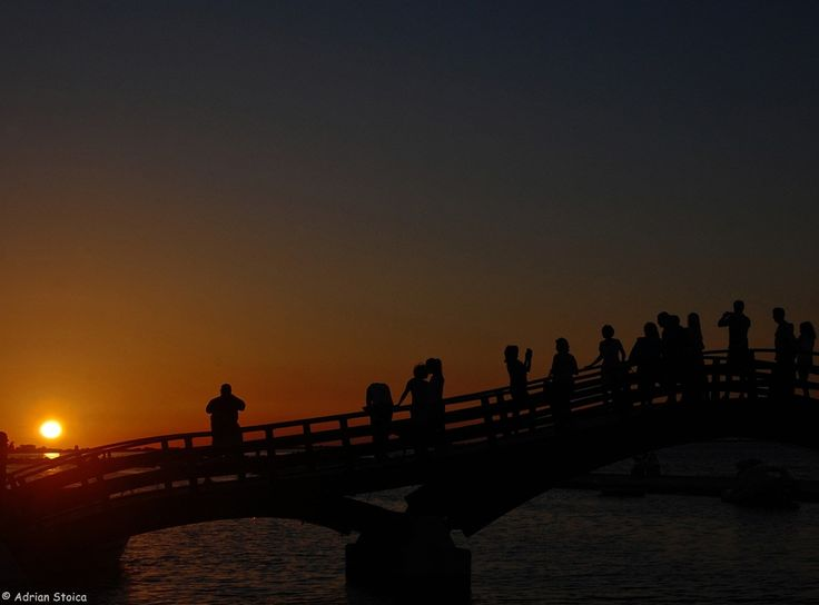 Lefkada - Shooting the sunset from the bridge