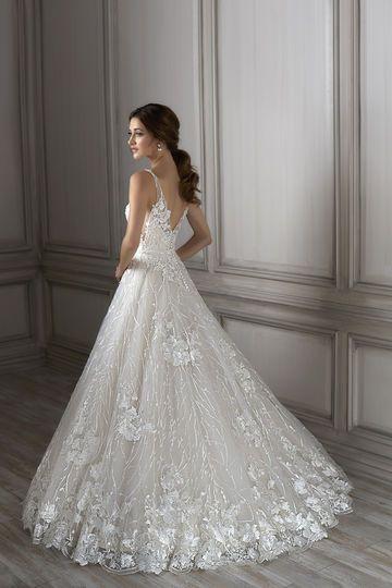 Louisa Wedding Gown by Adrianna Papell Platinum  5b288d0e04e2