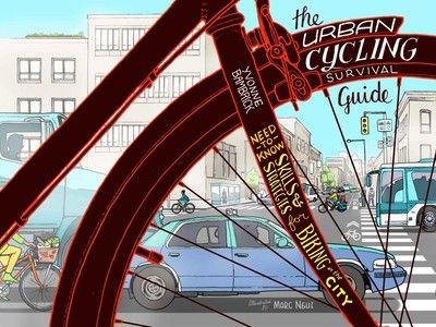 Everything you need to know about biking is in The Urban Cycling Survival Guide (Book Review)