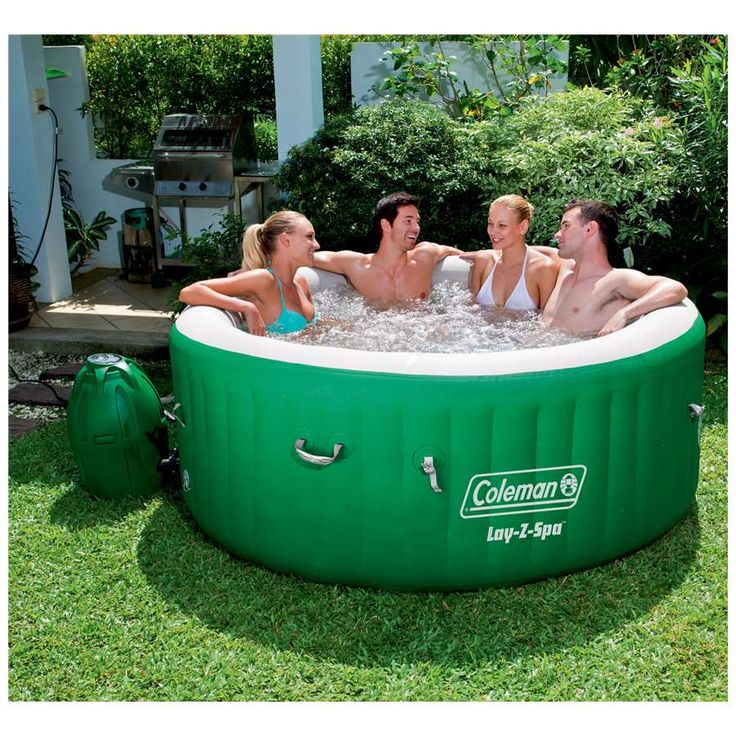 These Smashing Backyard Ideas Are Hot And Happening: Coleman Lay-Z-Spa Inflatable Hot Tub
