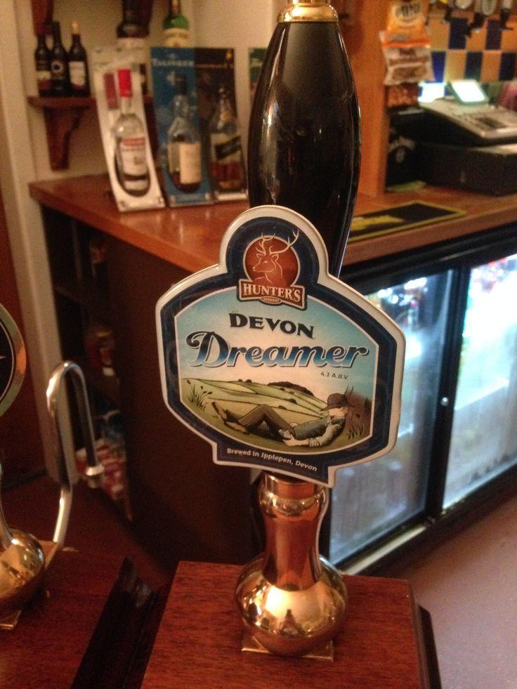 Devon Dreamer a lovely drop from Hunters brewery in Ipplepen...