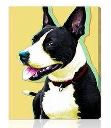 Pet Lover Personalized Canvas  $150.00#pintowingifts