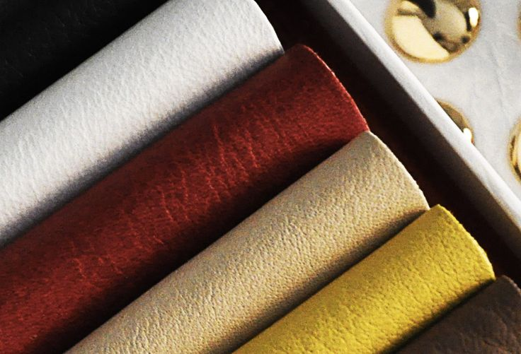 Eighteen nuances of the palette of natural leather
