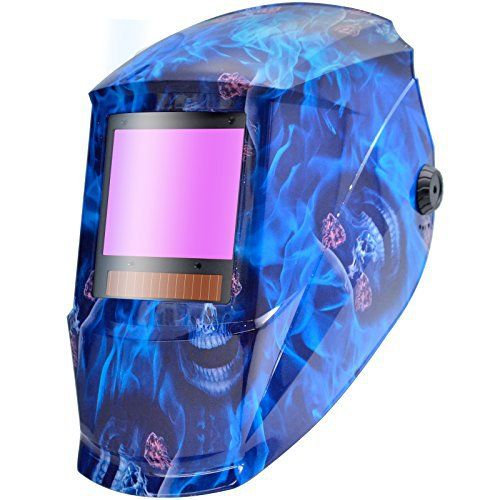 Antra AH7-X90 Series welding helmet is featured with the digital controlled 4 sensor auto darkening lens with TOP Optical Class 1/1/1/1(The less # the better), which is extremely fast responsive to electric arc from TIG, MIG, MMA or Plasma applications. LCD Shade display eliminate guess work,...