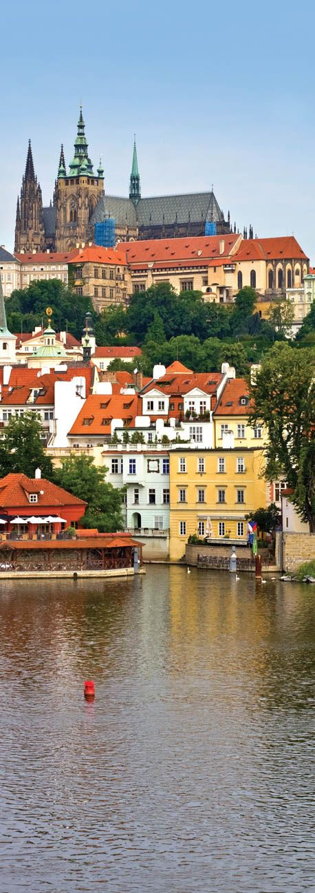 Prague is full of small and large monuments, grand and spectacular sights.