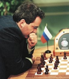 """""""The Chess Master and the Computer""""    Garry Kasparov discusses the rise of chess computers and the sometimes surprising insights this process has given into our understanding of the human mind."""