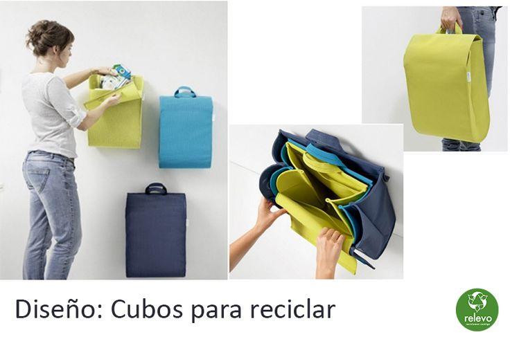M s de 1000 ideas sobre reciclar basura en pinterest - Cubos para reciclar ...