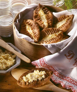 Karjalan Piirakka, Karelian Pastries :) I was looking through my food-board and all of it was something exotic and exciting but nothing from home.
