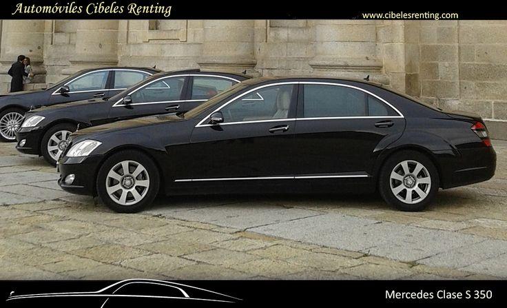 #Mercedes clase S con #conductor para #bodas en #Madrid