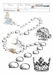 kwekerij bladen pasteitjes, kronen, koningen epiphany feest en in de kleuterschool, het onderwijs notities