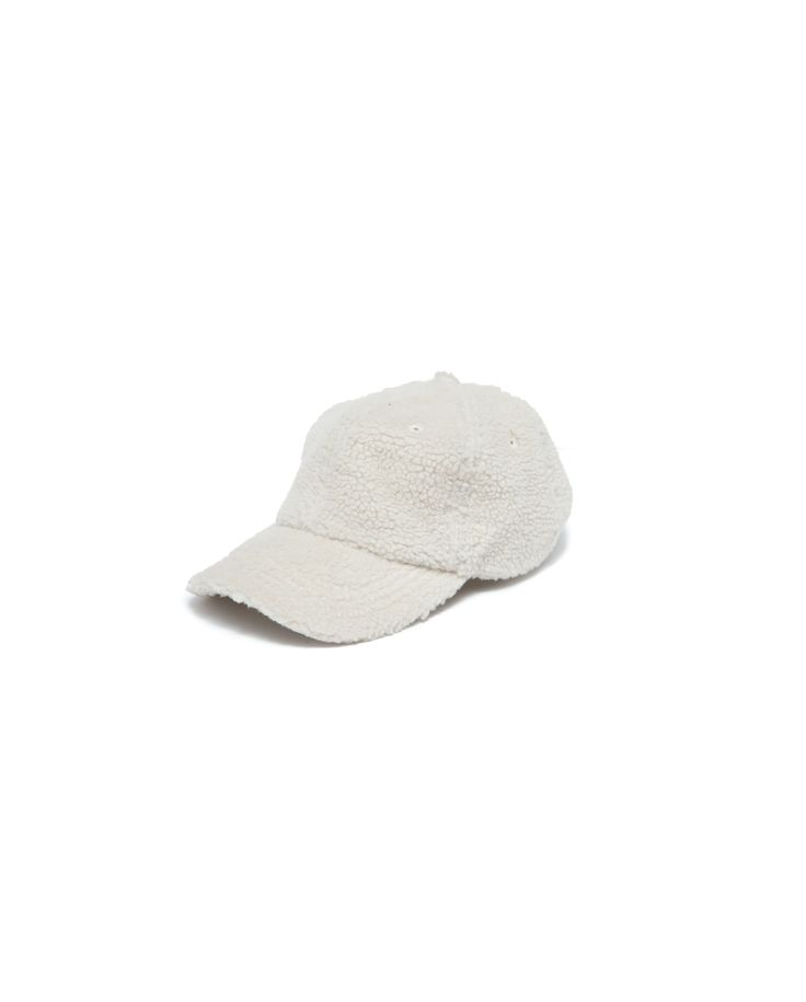 Atelier New Regime polar fleece cap in off white. #ateliernewregime #newregime #FW16