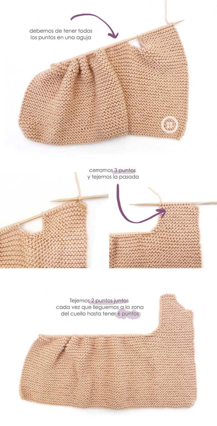 1109 best Punto -Knitting images on Pinterest   Knitting patterns ...
