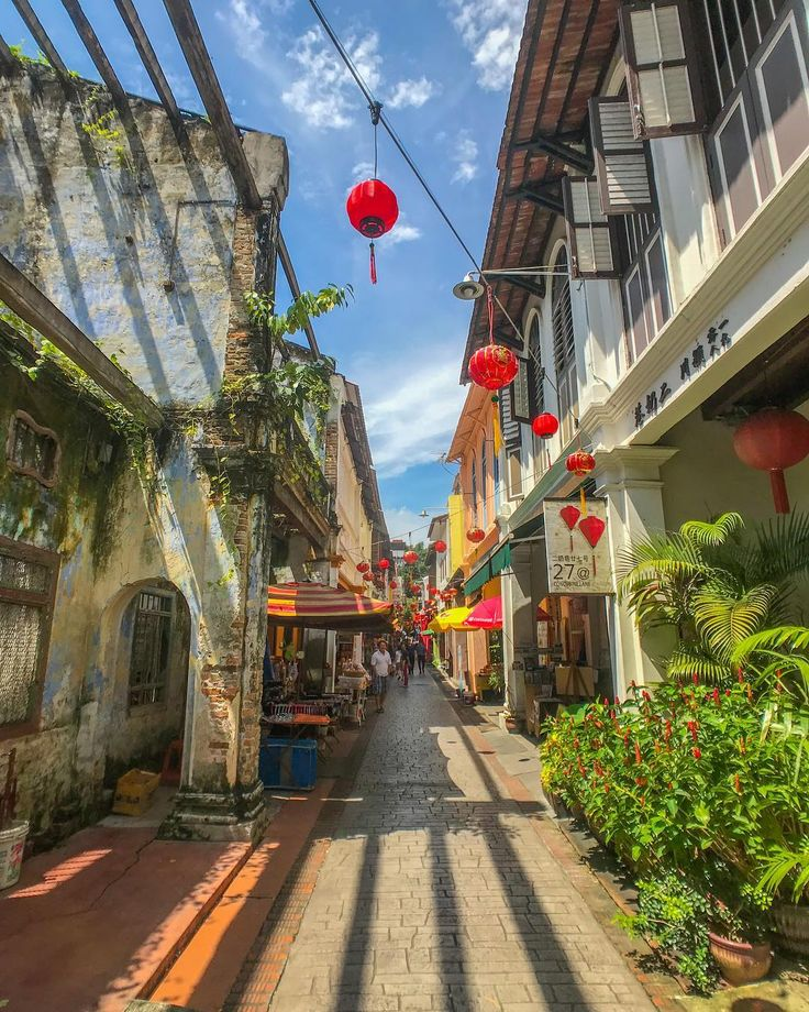 "Cassandra  on Instagram: ""Hipster haven, Concubine Lane, in Ipoh, Malaysia , where a mining tycoon in the 1800s gifted three lanes to his three wives, hence the…"""