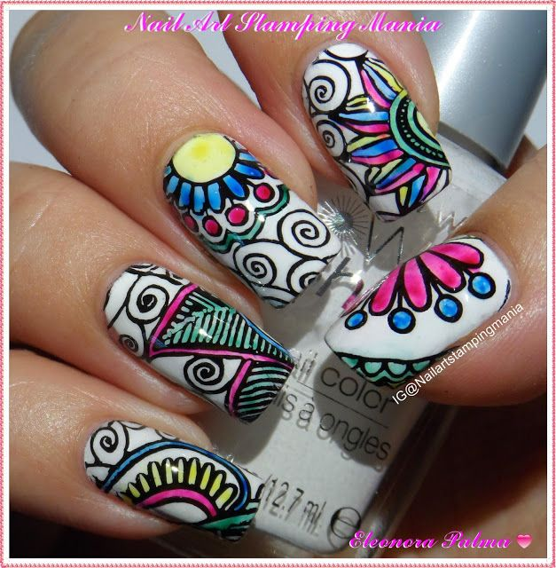 Nail Art Stamping Mania: LeadLight Manicure With Refill Stamper Heads from Born Pretty