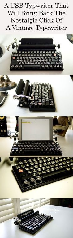 Perfect gift for a writer/hipster!