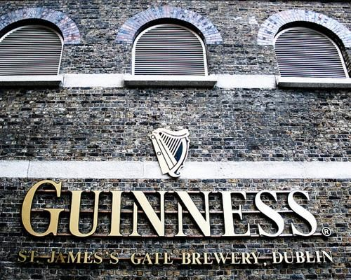 Guinness Brewery, Dublin. We are booked into a tour here…to think, it was all started with a $50 inheritance!