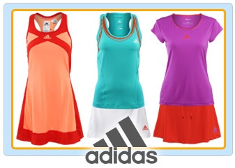I just can't seem to make a change from Adidas tennis wear. Nike has nice designs but they are very overpriced for what you get.