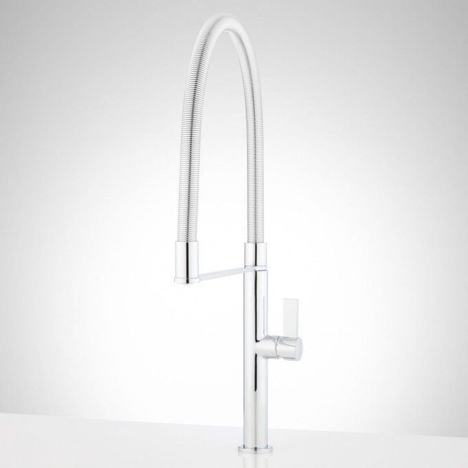 Bailey Single Hole Kitchen Faucet With Tall Spring Spout Her New