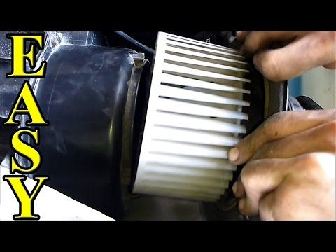 How to fix a Noisy Blower Motor AC Heat Fan - YouTube