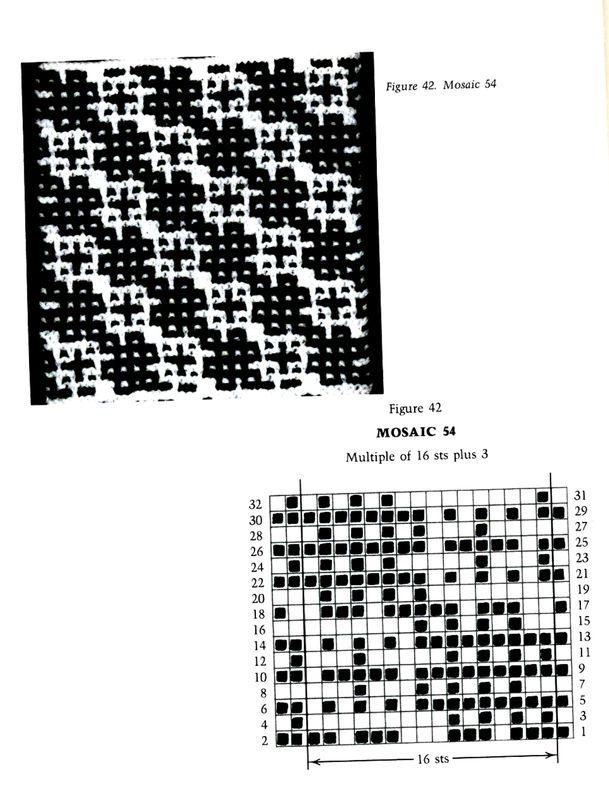 26 best mosaic knitting images on Pinterest Knitting patterns, Knitting sti...