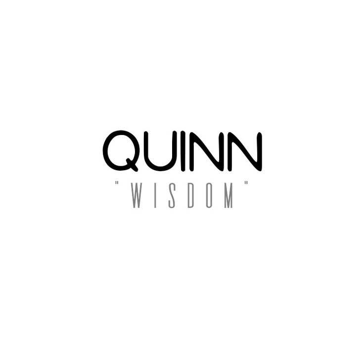 """Meaning of the name Quinn: """"Wisdom"""". This Irish name comes ..."""