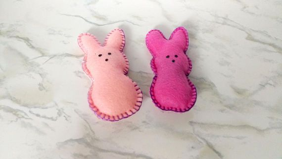 Marshmallow Inspired Catnip Toys  Easter Candy Catnip Toy