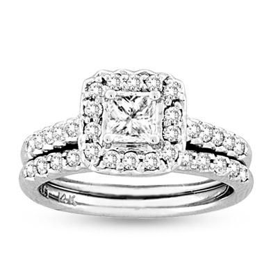 Princess Cut Diamond Engagement Ring Under 1000 5