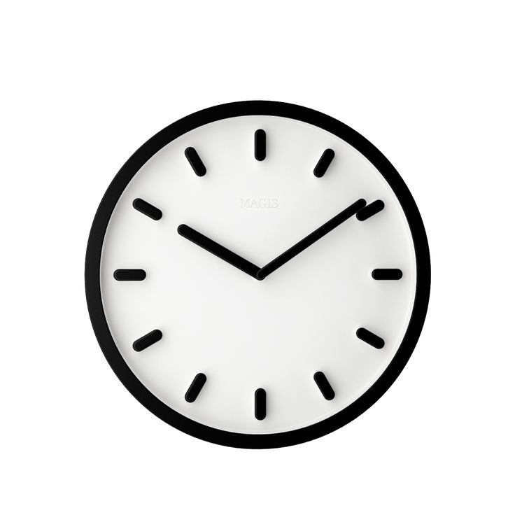 Free 3d model: Tempo Clock by Magis http://dimensiva.com/tempo-clock-by-magis/