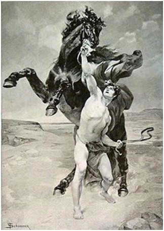 Αποτέλεσμα εικόνας για μεγας αλεξανδρος και βουκεφαλας