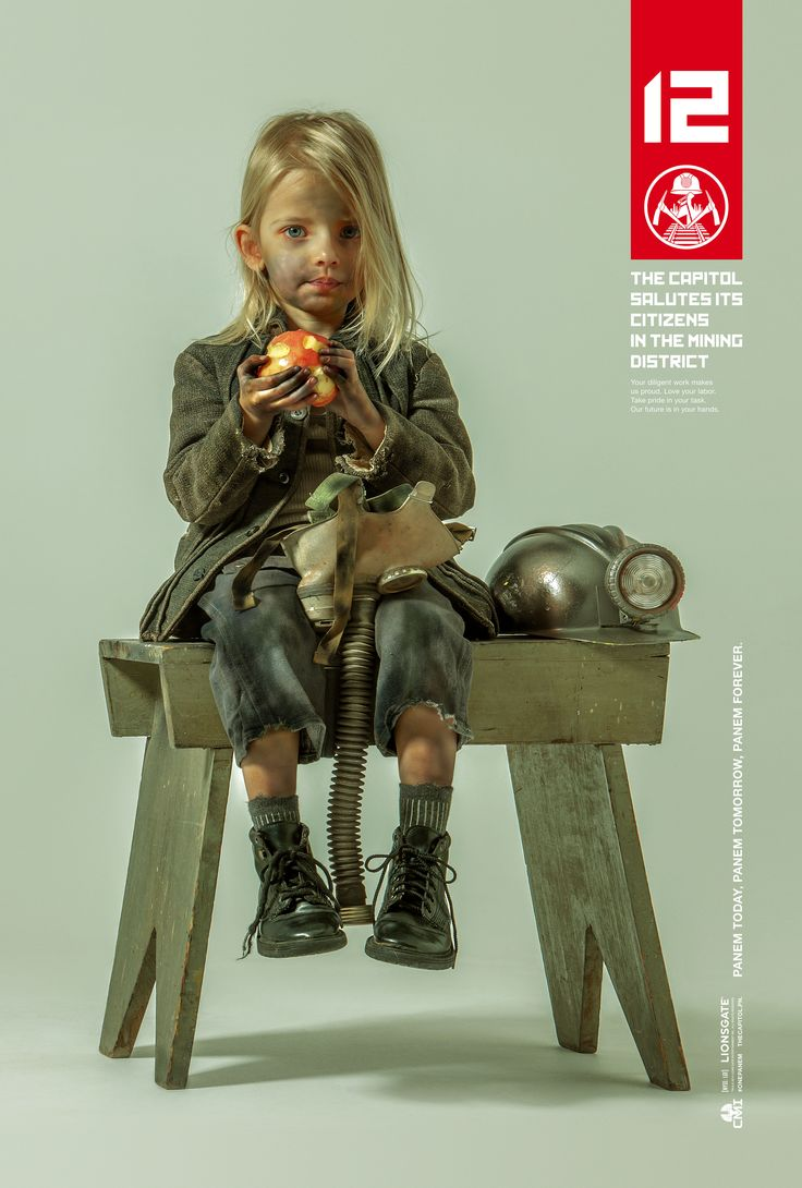 Even the youngest Panem citizens are considered District Heroes. Read more at http://hungrgam.es/dh12