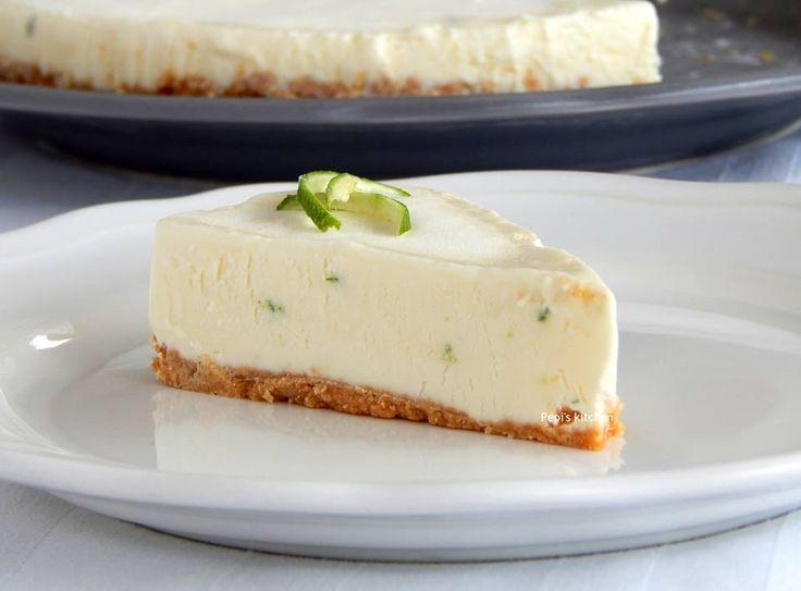 Τούρτα Παγωτό Τσίζκεικ http://laxtaristessyntages.blogspot.gr/2015/08/tourta-pagoto-cheese-cake.html