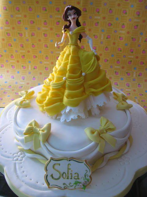 Resultado de imagen para tortas de la bella y la bestia