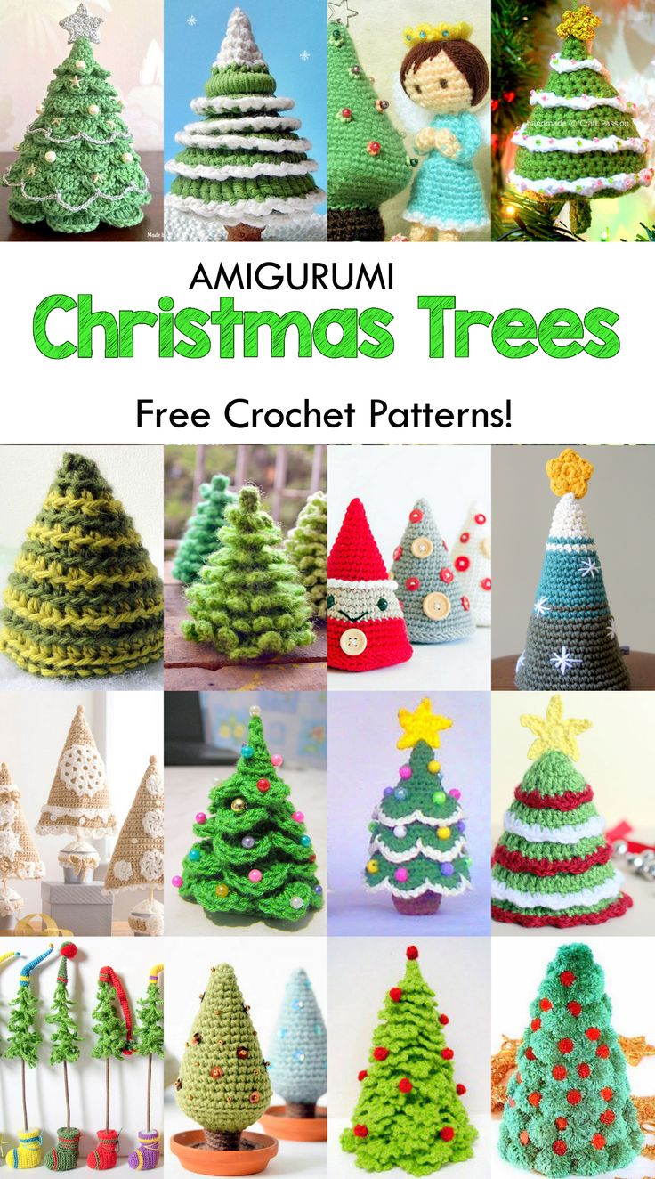 92 best christmas crochet christmas trees images on pinterest 19 free amigurumi christmas tree crochet patterns bankloansurffo Choice Image