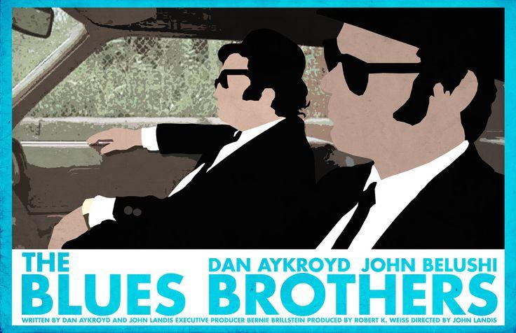 The Blues Brothers Poster. via Etsy. | John belushi ...
