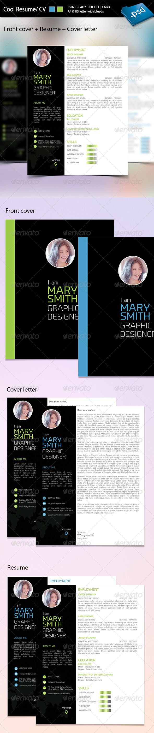 Best 25 Cv Cover Letter Ideas On Pinterest Creative Cv Design