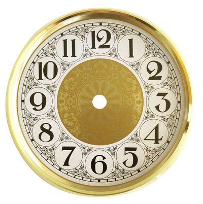 Captivating Round Metal Clock Dials Ideas